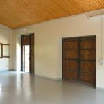 Realizzazione di rivestimento resinoso autolivellante sulla pavimentazione e trattamento semilavabile pareti.
