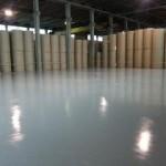 Realizzazione di rivestimento resinoso film sottile presso cartiera (stabilimento Lucca) - Dopo i lavori