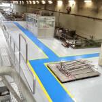 Realizzazione di massetto resinoso presso stabilimento industriale